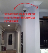 IP Security Camera Placement