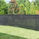 5' Chain link fence with privacy slats