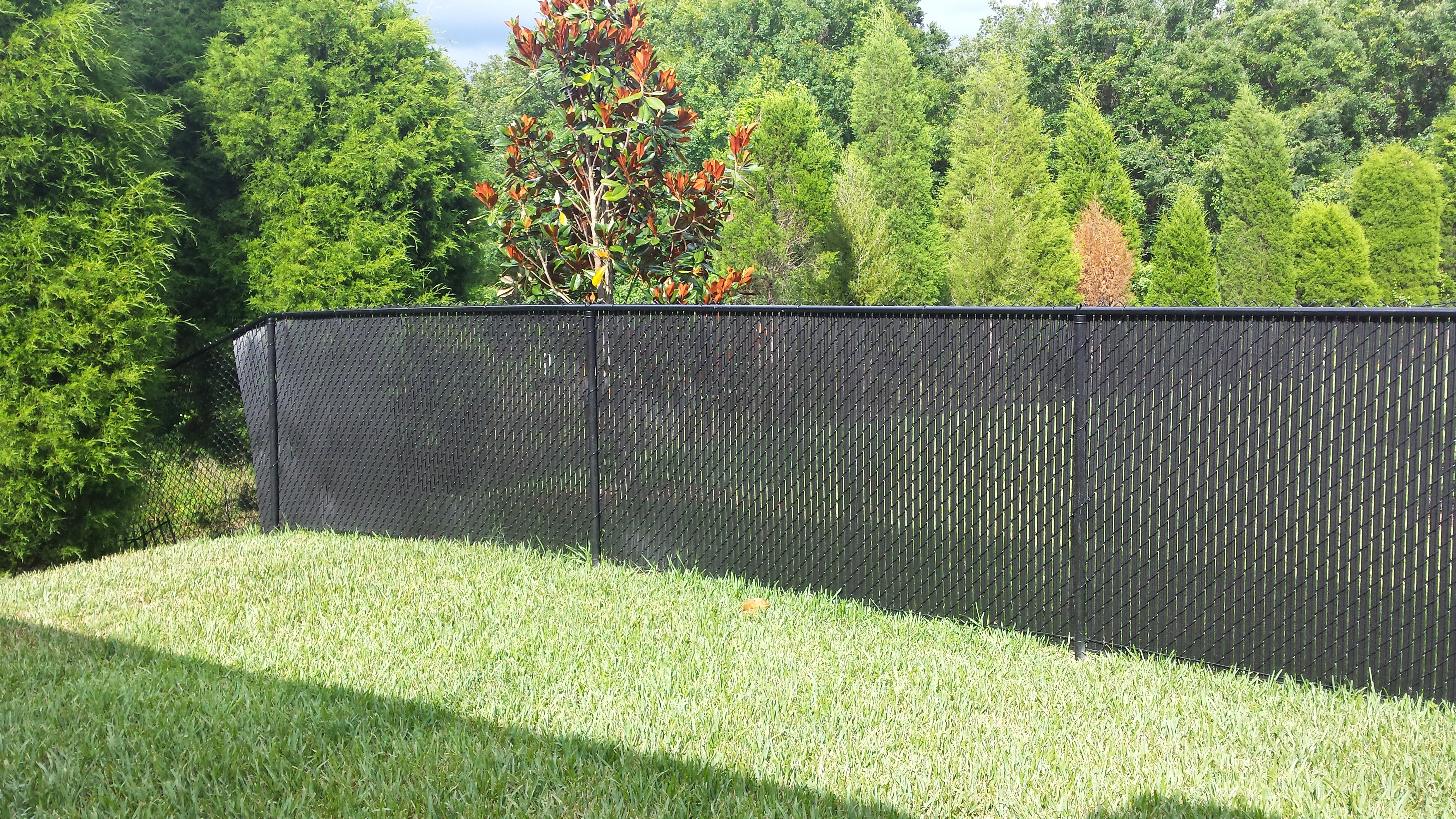 Privacy Fence Slats Great Solution For Your Chain Link