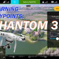 Phantom 3:  Learning Waypoints