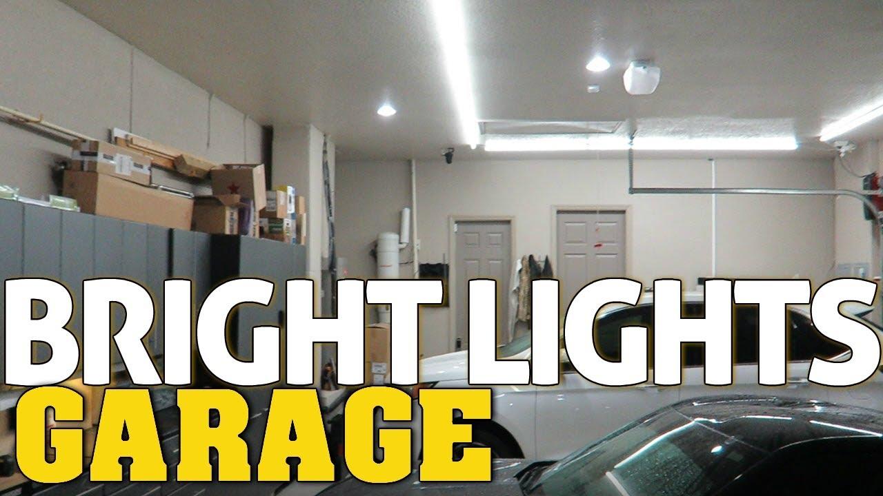 large garage lighting ideas | SMARTHOME